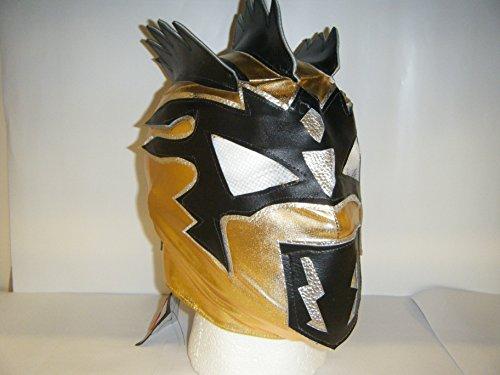 Maschera Wrestling Kalisto, con chiusura a zip per bambini