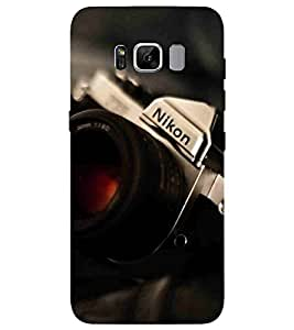 For Samsung Galaxy S8 Plus :: Samsung Galaxy S8+ nice camera, camera, old camera, modern camera Designer Printed High Quality Smooth Matte Protective Mobile Pouch Back Case Cover by BUZZWORLD