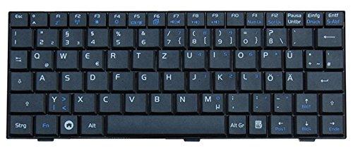 NExpert deutsche QWERTZ Tastatur für ASUS Eee PC 700 701 Netbook Series Schwarz DE -