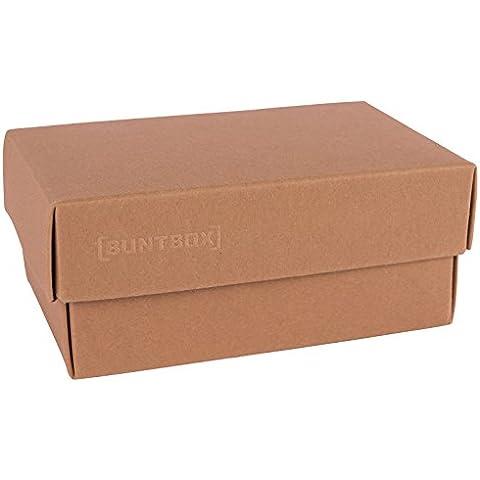 Buntbox caja de regalo, grande, de 34 x 22 x 11,5 cm Marrón