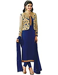 VIHA Women's Georgette Dress Material