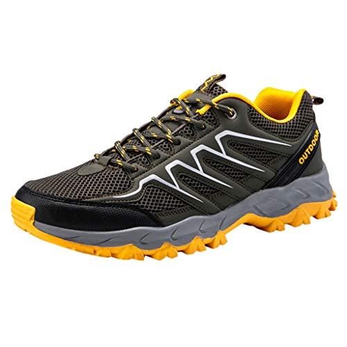Epig Herren Outdoor Sprots Schuhe Mesh Wandern Leichte Casual Running Sneakers