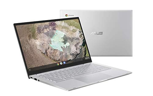 "Asus Chromebook C425TA-H50013 PC Portable 14"" FHD (Intel Core m3-8100Y, RAM 8Go, 64Go EMMC, Chrome OS) Clavier AZERTY Français"