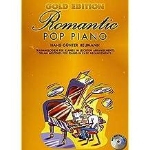 Romantic Pop Piano–Gold Edition–Arreglados para Piano–con CD [de la fragancia/Alemán]
