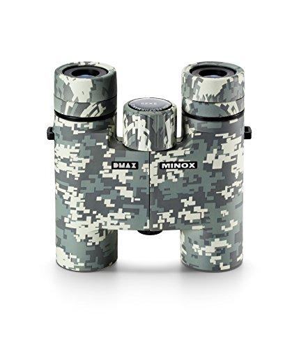 MINOX DMAX Camouflage 8x25 Fernglas – Taschenfernglas in Camouflage für die Outdoor-Expedition &...