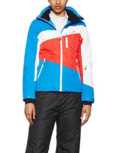 Black Crevice Damen Skijacke, Blau/Weiß/Rot, 40, BCR251007