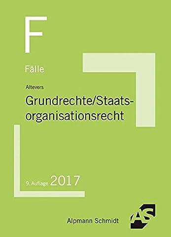 Fälle Grundrechte, Staatsorganisationsrecht
