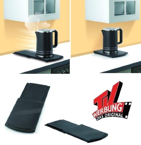Maxx Cuisine Platzwunder Unterstellplatte Untersetzer für Küchengerät ausziehbar