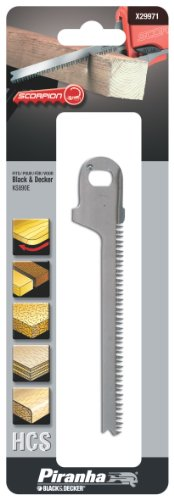 Preisvergleich Produktbild Piranha Scorpion Kurvensägeblatt, HCS-Sägeblatt (spezielle Sägezahngeometrie, für Gerad-und Kurvenschnitte) X29971