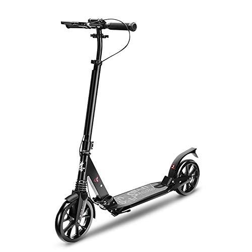 Erwachsene 2 Wheel Kick Scooters Mit Handbremse Und Riesenrädern, Geburtstagsgeschenke Für Kinder Ab 10 Jahren Jungen Mädchen, Unterstützung 100kg, Nicht Elektrisch