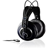 AKG K240MKII Circumaural Headphones–Headband headphones Black, Grey (M, Headband, 15–25000Hz; 104dB, 55OHM 200MW)