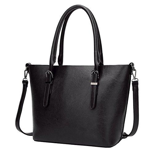 Spalla Di Grande Capacità LAIDAYE La Signora Della Moda Messenger Bag Black