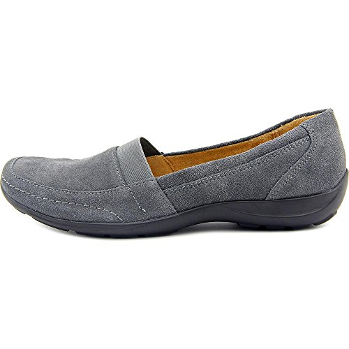 Naturalizer Fritz Damen Eckig Wildleder Slipper Grey