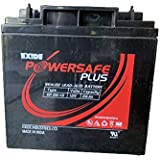 Exide 12V 26AH PowerSafe Sealed UPS Solar Battery (Black)