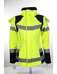 HKM Chaqueta–Safety de, color neon gelb/silber, tamaño 17 años (176 cm)