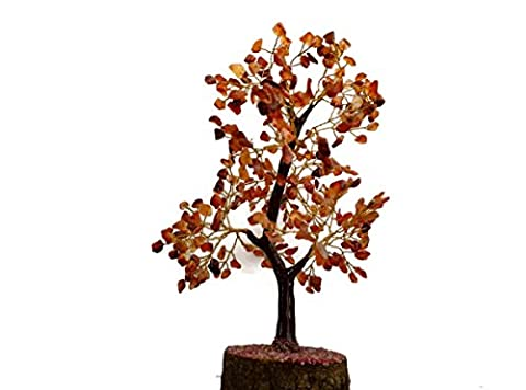 ReikiEnergy Charged Healing Natural Red Carnelian 300 Gemstone Crystal TREE Gift