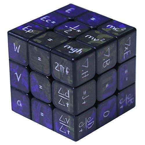 ginal Piramide Wettbewerb Mathematik-Geschwindigkeit Cube Magie Rätsel Cube Festgelegt Für Gehirn-Trainingsspiel, Blue ()