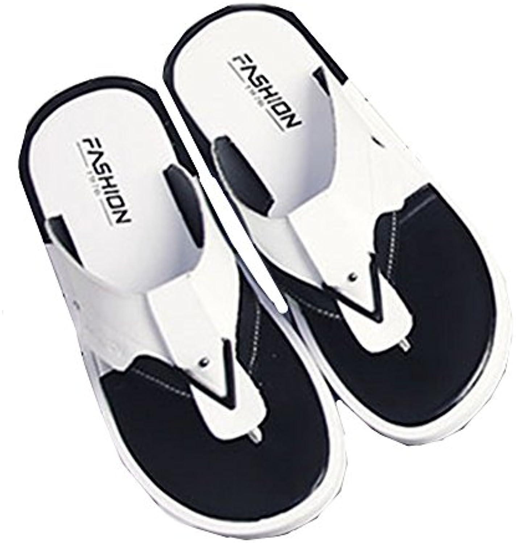 Männer Hausschuhe Männer Strand Sandalen Einfache Persönlichkeit Kleine Code Sommer Flip Flops sowohl Unter Wasser