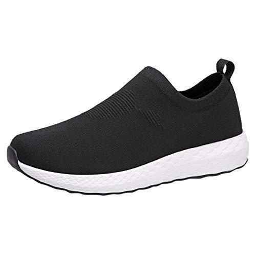 ABsoar Leichtgewichts Sneaker Herren Mesh Laufschuhe Outdoor Sneakers Atmungsaktive Mode Sportschuhe Tennisschuhe Casual Reiseschuhe