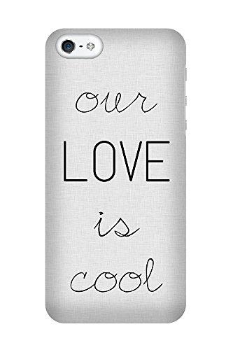 iPhone 4/4S Coque photo - L'amour est cool