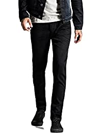 Jack & Jones Homme Slim Fit Tim original 298 Jeans, Noir