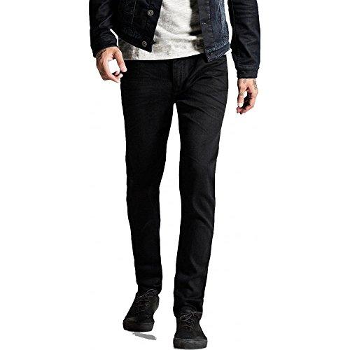 Jack&Jones - Herren Jeans - Slim Fit - Tim SC298, 32W x 32L, Farbe: Schwarz