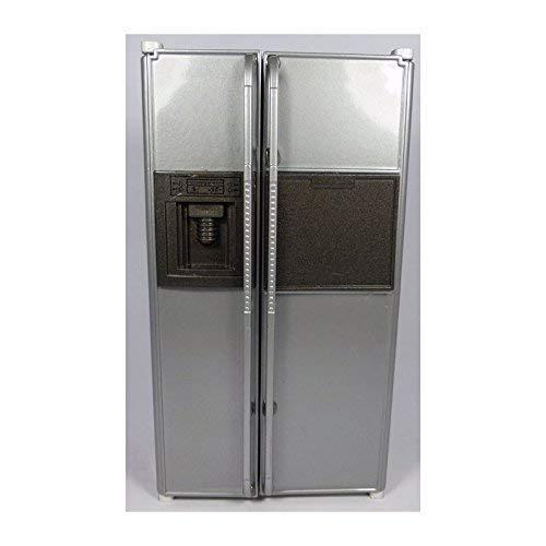 Plateado Deluxe americano frigorífico