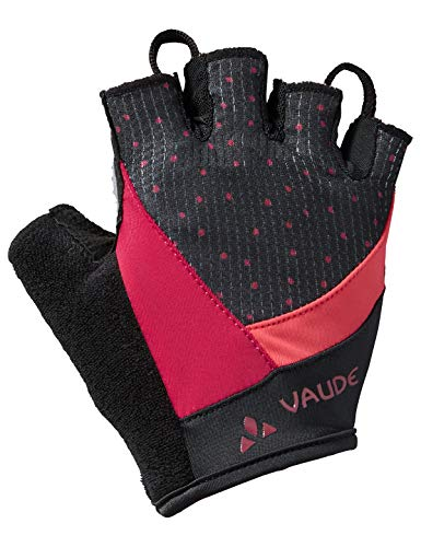 Vaude Damen Advanced Gloves II Kurzfinger-Radhandschuh Handschuhe, Crimson red, 7