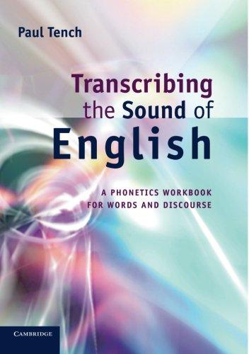 Transcribing the Sound of English Paperback por Tench
