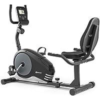 Vélo d'appartement semi-allongé HS-040L ROOT vélo assis Hop-Sport max 120 kg (Rouge)
