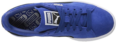 Puma Suede Classic+Water Wildleder Turnschuhe True Blue-Puma Black