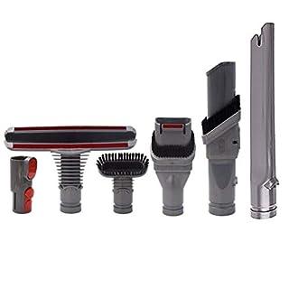 koowaa Vakuum-Ersatzwerkzeug-Set für Dyson V6 DC35/45/52/58 Aufsätze Staubbürstenreiniger Schmutzentferner Pro Reinigungswerkzeuge