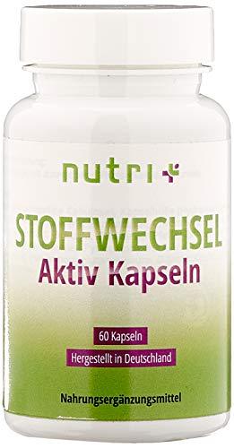 STOFFWECHSEL Aktiv Kapseln - beliebtes Produkt in Diät & Stoffwechselkur - natürlich ohne Zusatzstoffe - Erfolgsprodukt von Ernährungswissenschaftlern - Made in Germany