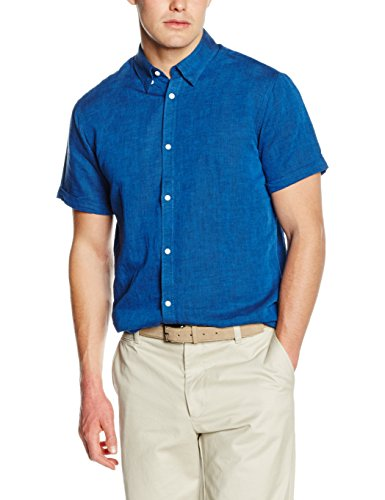 Selected Linus - Chemise Casual - Homme Bleu - Blau (Olympian Blue)
