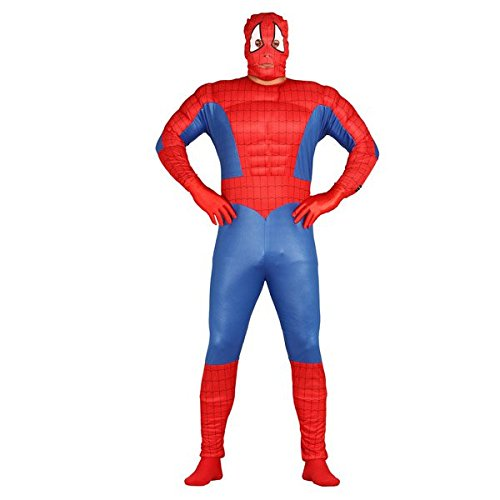 Kostüm von superhéroe muskulös (Superheroe Kostüme)