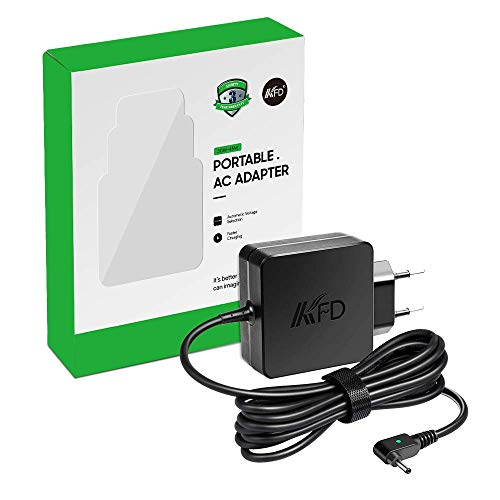 KFD 45W Stecker Netzteil Ladegerät Ladekabel für Acer Chromebook CB3 CB5 11 13 14 15 R11 C730 C731 C735 C810 CB3-431 CB3-531 CB3-532, Aspire Switch 5 11 11V 12 Alpha SA5-271 SW5-171 SW5-271 19V 2,37A
