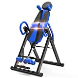 YOLEO Table d'Inversion Pliable Musculation Appareil du Dos Bras Sport Exercice...