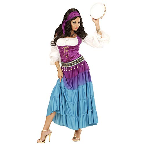 Kostüm Zigeunerin Halloween - Widmann - Erwachsenenkostüm Gipsy
