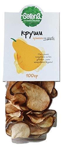 Natürliche Getrocknete Birnen Vegetarisch Ohne Farbstoffzusatz Ohne Zuckerzusatz Ohne Konservierungsstoffe Ohne Süßstoffe Keine künstlichen Farbstoffe Ohne SO2 100 g