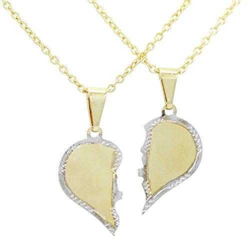 elle-et-lui-2-pieces-demi-coeur-et-inscription-amour-couple-collier-plaque-or-14-carats