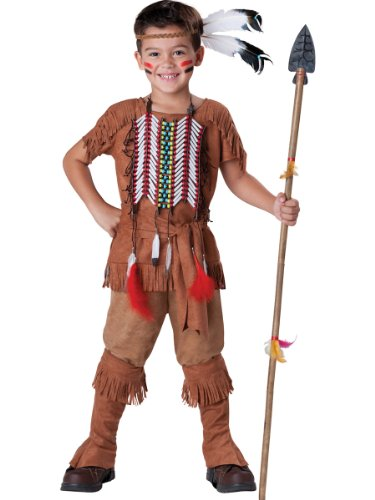 Indian Brave Kostüm Kind - InCharacter Costumes Boy's Indian Brave Costume, Tan, 6 by InCharacter