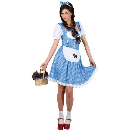 (Dorothy Der Zauberer von Oz Verkleidungsparty Karneval Halloween Kostüm S)