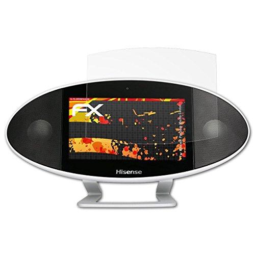 atFoliX Schutzfolie kompatibel mit Hisense Portable Media Center Displayschutzfolie, HD-Entspiegelung FX Folie (3X)