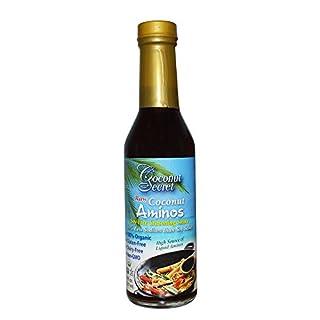 Coconut Secret Coconut Aminos, Soja-freie Gewürz Sauce (237 ml)