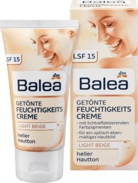 "Balea Getönte Tagescreme \""light beige\"", 50 ml"