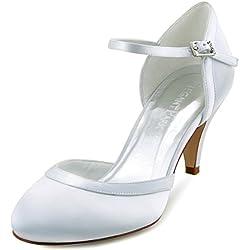 Zapatos de tacón para boda con cierre - Varios tonos a elegir