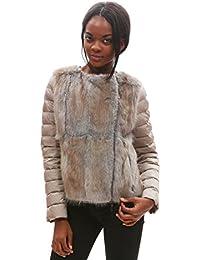 9221U giubbotto donna MONCLER SAISSAC piumino jacket woman