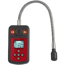 UYIGAO Mini Detector de Gas Combustible de Mano Portátil Medidor de Ubicación de Fugas con Pantalla LCD Sonido y Luz ALarma Automotriz