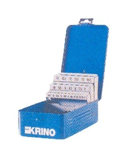 Astuccio portapunte in lamiera pz 25 mm 1-13 utensileria manuale