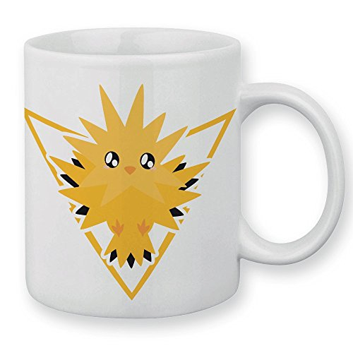 Mug Elector Pokemon go chibi et kawaii team Instinct by Fluffy chamalow - Fabriqué en France - Chamalow shop